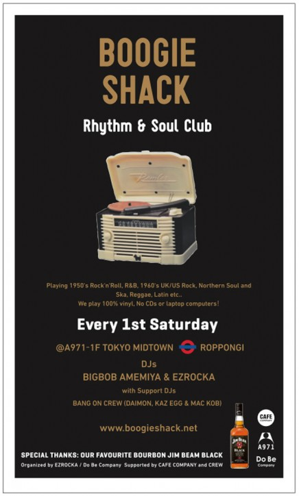 BOOGIE SHACK rhythm & soul club